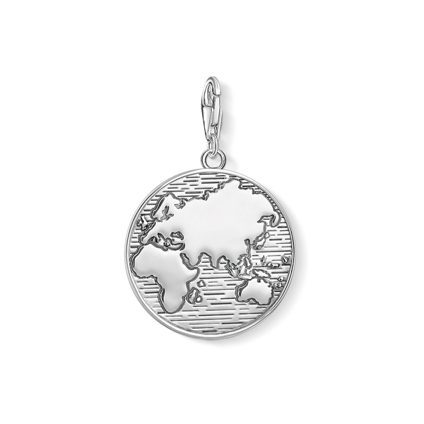 Fallers popular jewellery products engagement rings claddagh thomas sabo charm pendant world map freerunsca Gallery