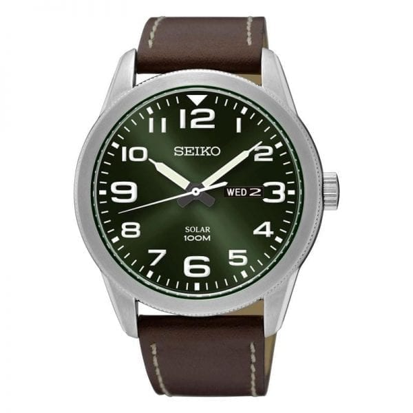 Seiko Gents Solar Day/ Date